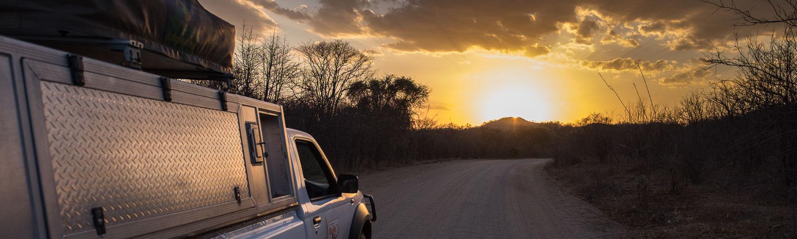 Unterwegs im südlichen Afrika
