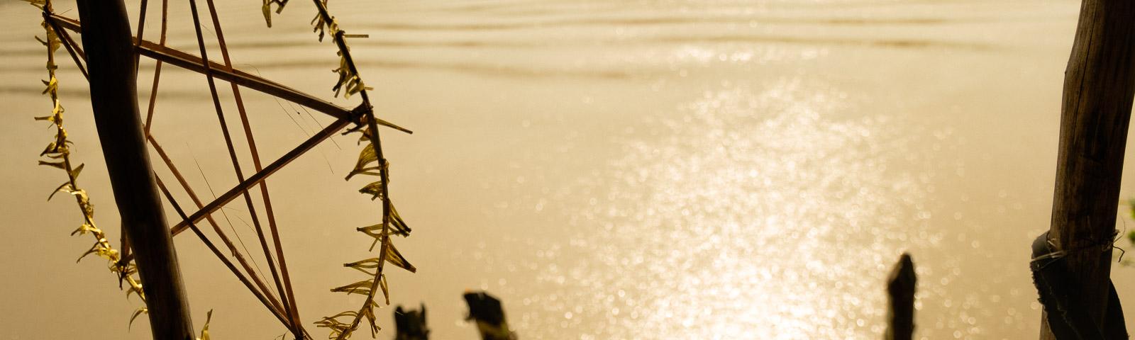 Goldener Glanz des Mekong